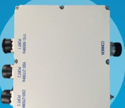 Outdoor 3 Way Power Divider / RF Hybrid Combiner Waterproof Level IP67 PIM 160DBC